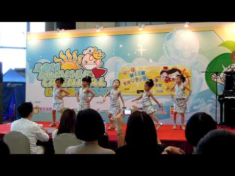 Wonder K3 Girls at Cyberport  on 24 Jul 2011
