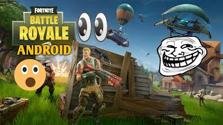 Fortnite Battle Royale For Android!? | Gameplay | Download Link