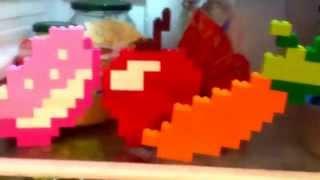 Обзор пиксель-артов еды из игры майнкрафт