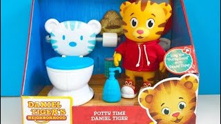 New POTTY TIME DANIEL TIGER'S Neighbourhood Toy Opening Toilet Learning Story!