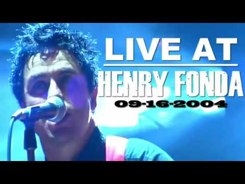 Green Day - Live at Henry Fonda Theatre - Full Concert (09.16.2004)
