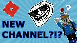 What Happened to my OTHER CHANNEL?!? (Roblox)
