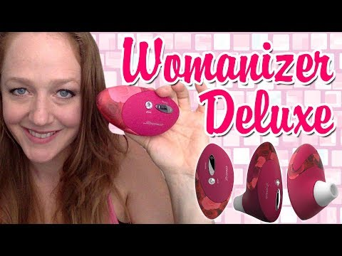 Sex Toy For Clit | Womanizer Deluxe | Rechargeable Suction Vibrator For Clitoris
