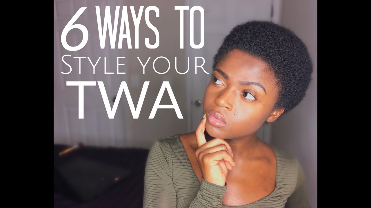 ways to style afro hair 6 ways to style your twa 3c 4a 4b amp 4c 5004