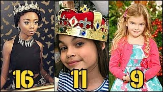 Disney Channel Girls From Oldest to Youngest