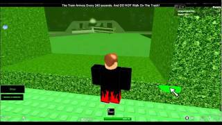roblox train crash caught on tape!!!!