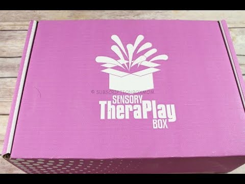 Sensory TheraPlay Box November 2017 Unboxing + Coupons #TheraPLAYBox