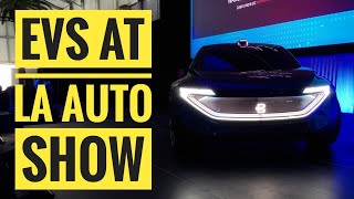 Electric Cars at the LA Auto Show: Preview