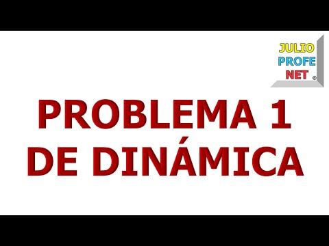 26. Problema 1 de DINÁMICA