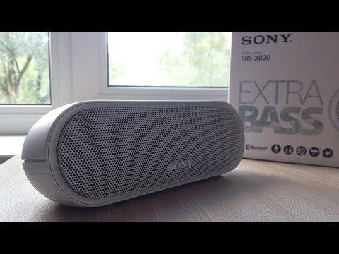 Обзор Sony SRS-XB20 // Extra BASS