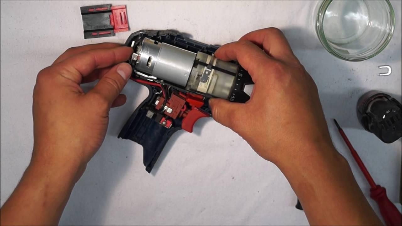 reparatur zusammensetzen assemble bosch gsr 10 8v akkuschrauber part 2 2 youtube. Black Bedroom Furniture Sets. Home Design Ideas