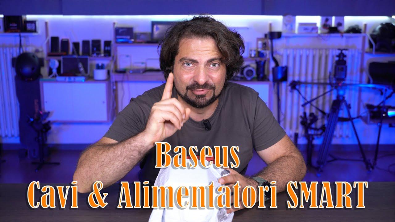 Baseus Unboxing e test Cavi e Alimentatori di ULTIMA GENERAZIONE