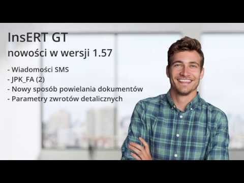 InsERT GT - nowości w wersji 1.57