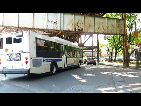 NYC Bus: Mott Haven bound Orion VII CNG 7701 Bx21 at Southern Blvd/E Tremont Av