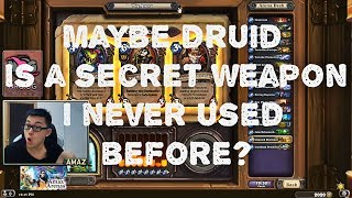 Hearthstone Arena - Druid with Aya Blackpaw! Secret weapon!