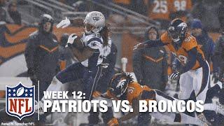 Tom Brady throws TD #420 to Brandon Bolden for a 63-Yard TD! | Patriots vs. Broncos | NFL