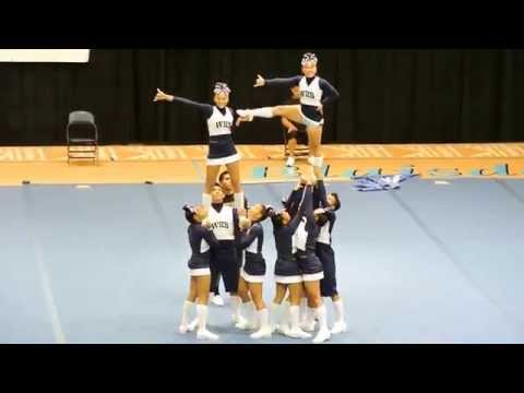 Waimea Menehune Cheer HHSAA 2012 States Competition
