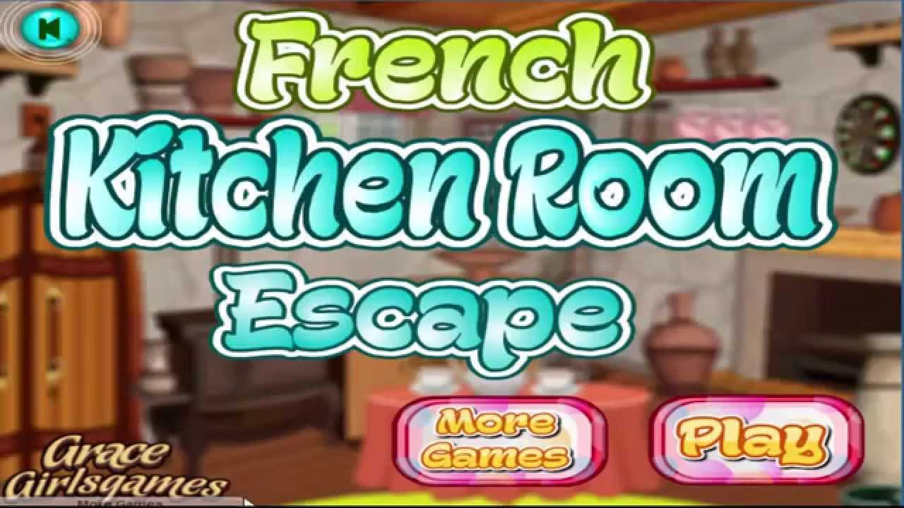 French Kitchen Room Escape walkthrough (GraceGirlsGames), . - YouTube
