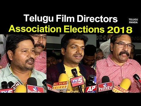 Telugu Film Directors Association Elections 2018 | TFDA Elections Press Meet | Telugu Panda