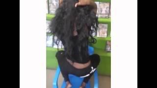 Tanzanian Girl Twerks Diamondplatnumz Song