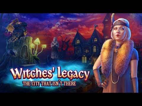 Witches' Legacy: The City That Wasn't There Collector's Edition Gameplay Walkthrough NO COMMENTARY