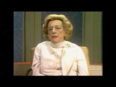 Lillian Hellman--Rare 1973 TV Interview