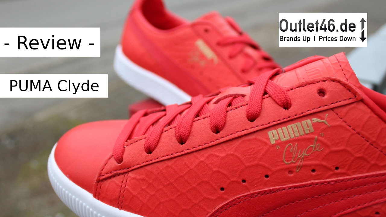 PUMA Clyde Dressed DEUTSCH Review l On Feet l Unboxing l Haul l Overview l  Outlet46 902caad31