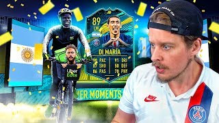 THE TESCO NEYMAR?! 89 PLAYER MOMENTS DI MARIA PLAYER REVIEW! FIFA 20 Ultimate Team