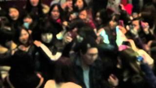 140118 King Kyu Leaving Seoul Arts Centre