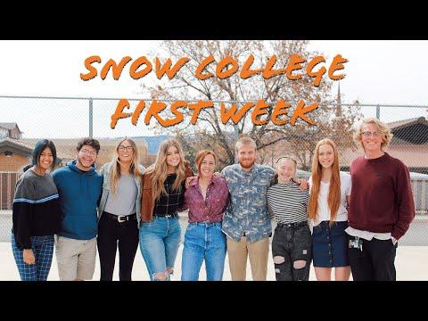 Snow College: First Week