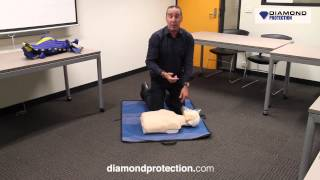 How to perform CPR (Cardiopulmonary Resuscitation) Training Video