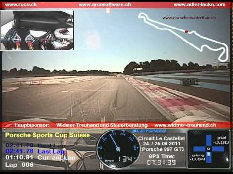 Onboard Le Castellet Porsche 997 GT3 Qualifying