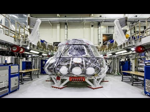NASA feeds the Orion spacecraft: it will take the man to the Moon, Mars and beyond.