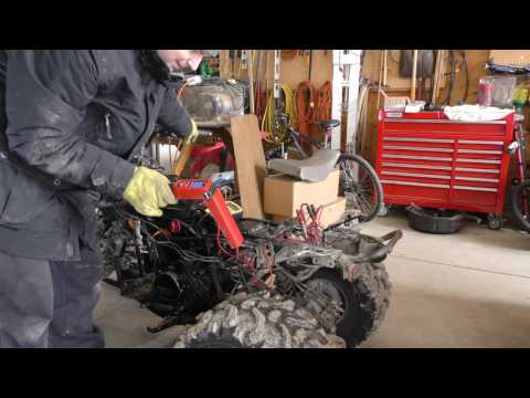 Repeat Honda 300 coil and cdi troubleshooting for no spark