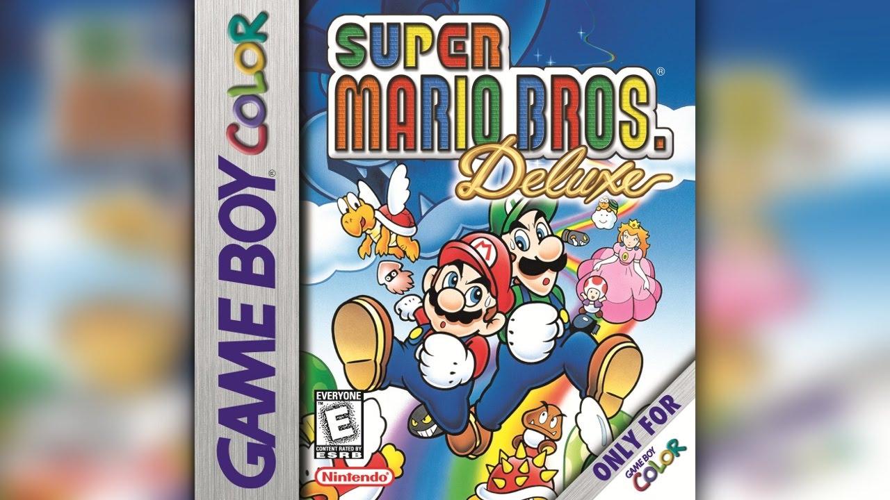 Super Mario Bros Deluxe Gbc Full Playthrough W Thekingnappy