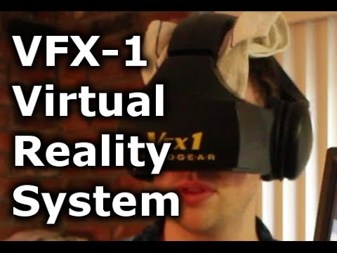 Playing with the VFX1 Virtual Reality System