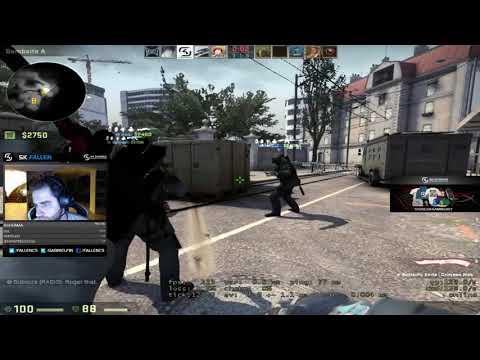 FalleN jogando CSGO na OVERPASS (2)