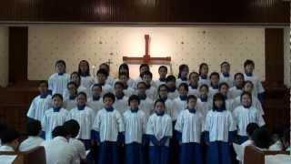 聖公會呂明才紀念小學 20120509高年級聖詩_我要向高山
