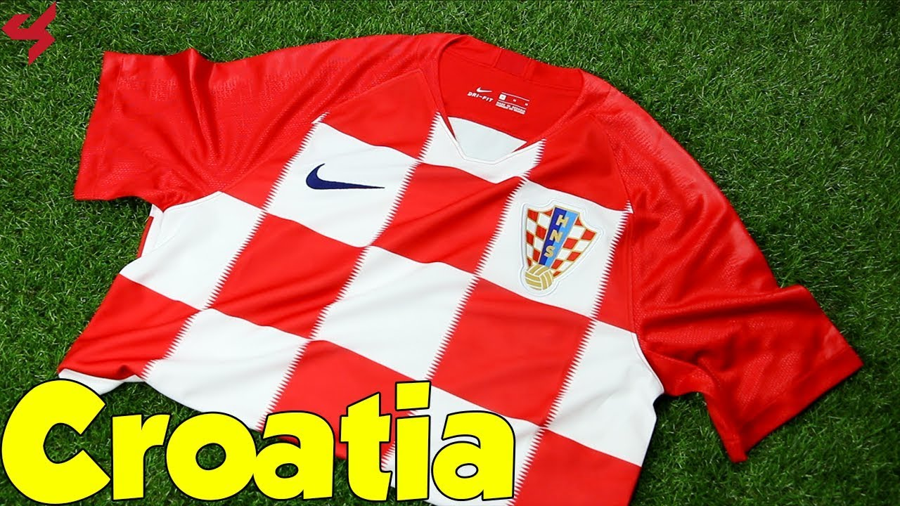 7c53dca6e15 World Cup 2018 Nike Home Croatia Soccer Jersey Unboxing + Review ...
