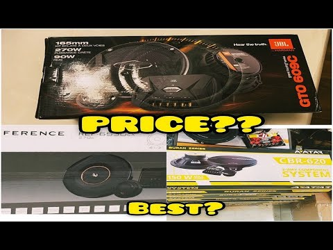 JBL GTO609C or AVATAR 620 or INFINITY REFERENCE?   UNBOXING REVIEW   CAR SPEAKERS  ACCESSORIES SHOP 