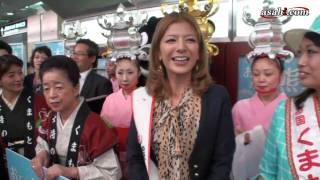 アサヒ・コム動画 http://www.asahi.com/video/ タレントで、「熊本県宣...