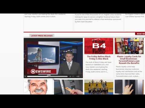 Newswire.net -  Include your Press Release in Newswire's News video