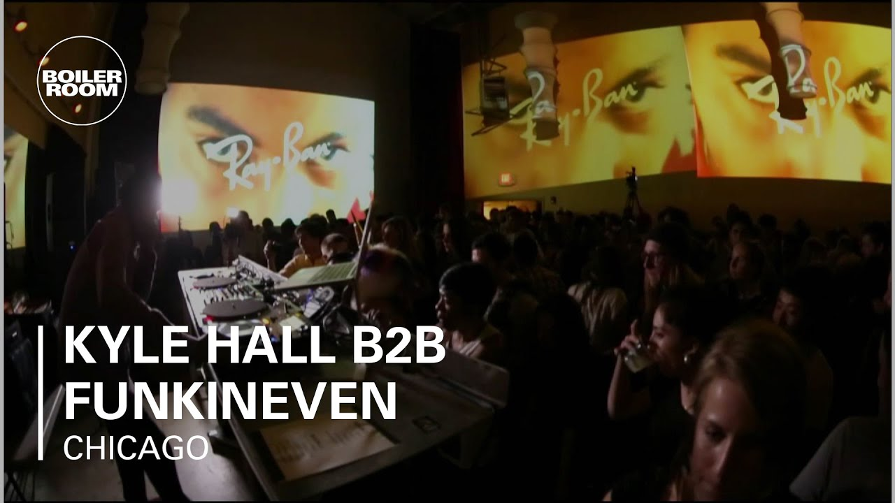 ef0c16f5932 Kyle Hall b2b Funkineven DJ set at Ray-Ban x TIMF Afterparty - YouTube