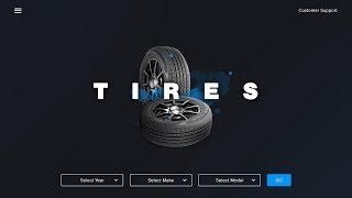 Web Design Speed Art + Speed Code - Tire Company Landing Page (Xd/Brackets)