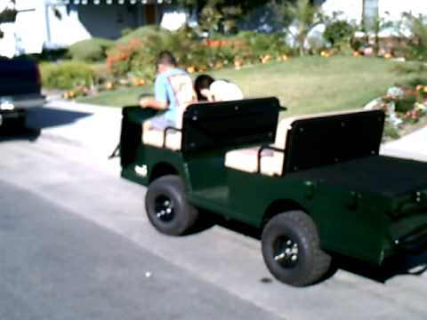Taylor Dunn B248 Offroad Project Pt 4  YouTube