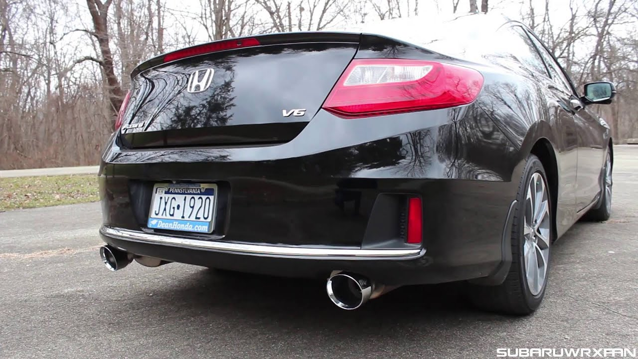 Honda Accord 2014 Coupe V6 >> Sound: Magnaflow Exhaust on 2014 Honda Accord V6 Coupe - YouTube