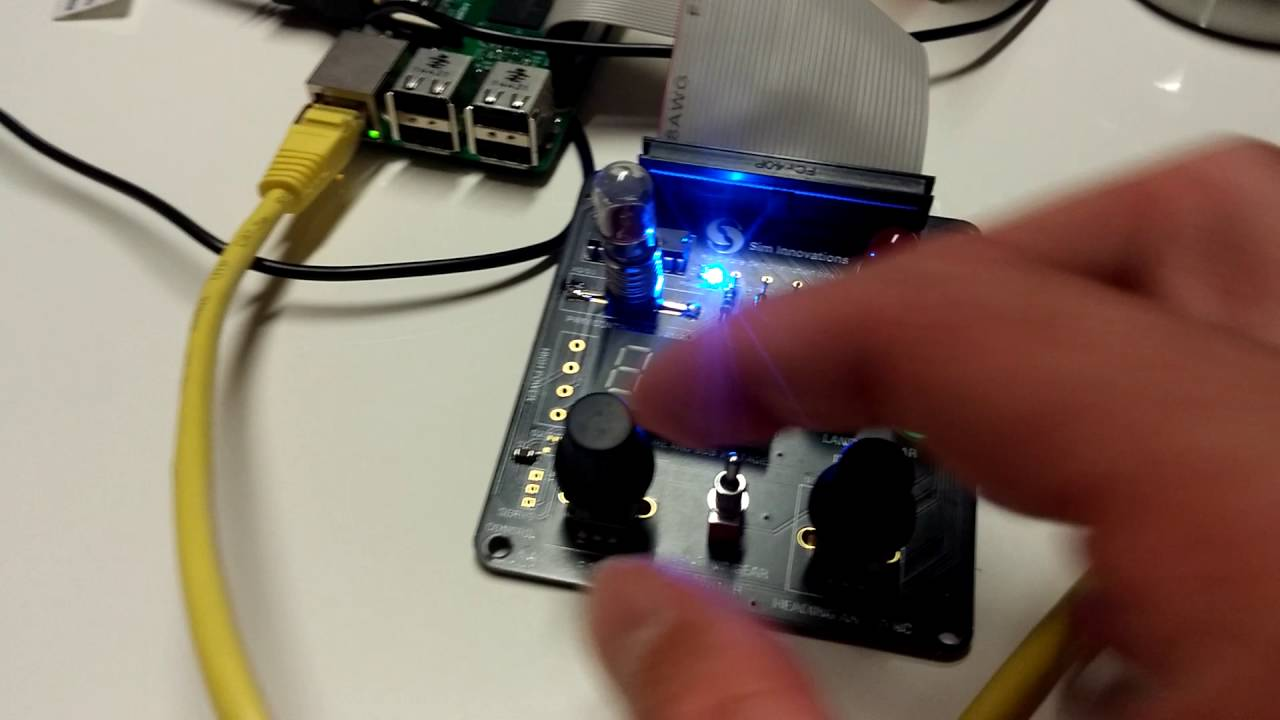 Air Manager Raspberry Pi hardware and software demonstration