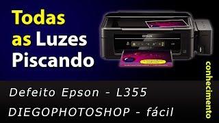 Defeito luzes piscando - Epson L355