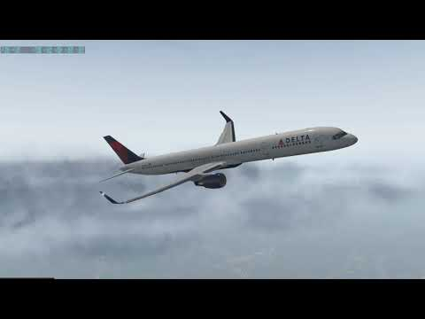 Landing to Taipei Song Shan Airport(RCSS) X-Plane11 Boeing757-300