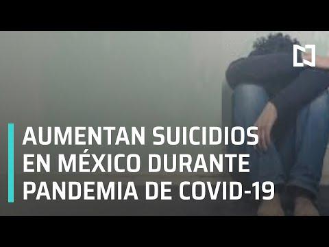 Aumentan suicidios por la pandemia de COVID-19 - Hora 21